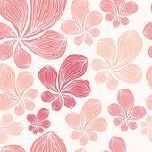 Beautiful seamless tropical leaf pattern. Vector illustration. — Vecteur