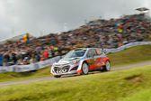 Thierry Neuville, Hyundai motorsport — Stock Photo