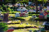 BILLUND - July 31, 2013: Legoland in Billund, Denmark on July 31 — Stock Photo