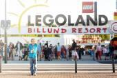 BILLUND - July 31, 2013: Legoland in Billund, Denmark on July 31 — Foto de Stock