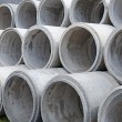 Concrete rings for draw-wells — Stock Photo #68720301