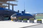 Old submarine near the Tivat, Montenegro — Stock Photo