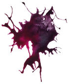 Beautiful traced vector watercolor splatter.  — Stock Vector