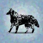 Colorful mosaic pattern. Blots silhouette. — Stockvektor