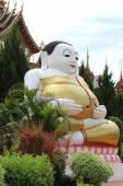 Estátua do buda feliz — Fotografia Stock