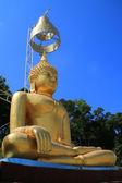 Zlatá obraz Buddhy — Stock fotografie