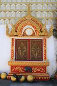Window of the monastery — Foto Stock