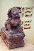 Leo sculpture — 图库照片