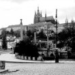 Постер, плакат: Black and white photo Prague