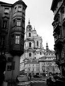 Černé a bílé fotografie Praha — Stock fotografie