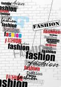 Fashion background — Stock Vector