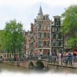 Streets of Old Amsterdam — Stock Photo #80845244