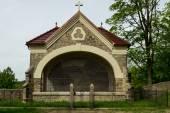 Камень католическая часовня — Стоковое фото