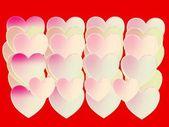 Heart symbol, plastic shape — Stock Photo