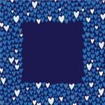 Romantic cartoon border — Stock Vector #51965039