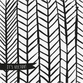 Black and white chevron paint. — Stock Vector