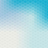 Colorful hexagonal pattern — Stock Vector