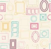 Photo frames pattern. — Stock Vector
