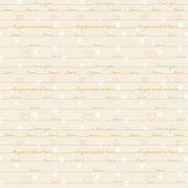Romantic calligraphy wallpaper. — Stock Vector