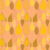 Seamless pattern with leaf — Stock Vector