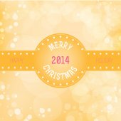 Merry Christmas and New Year background. — Stock Vector