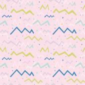 Veelkleurige plezier naadloze patroon voor partij — Stockvector