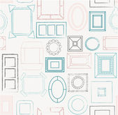 Photo frames pattern. — Stock Vector