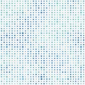 Multicolor polka dots seamless pattern. — Stock Vector