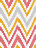 Retro pattern in bright color. Beautiful chevron texture. — Stock Vector
