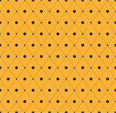 Geometrická abstraktní retro bezešvé pozadí — Stock vektor