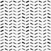 Sem costura padrão monocromático linha aquarela. — Vetor de Stock