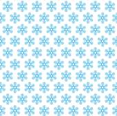 Seamless snow flakes vector pattern. — Stock Vector