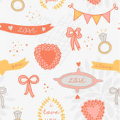 Sweet romantic abstract background. — Stock Vector