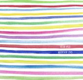 Padrão sem emenda da linha aquarela multicolor — Vetor de Stock