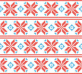 Pixel holiday pattern. — Stock Vector