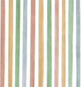 Multicolor watercolor line seamless pattern. — Stock Vector