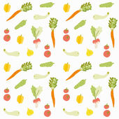 Food seamless pattern. — Stock Vector