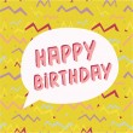 Birthday Greeting Card. — Stock Vector #58804329