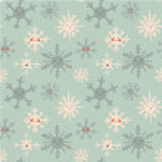 Постер, плакат: Cute snowflakes pattern
