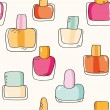 Nail polish bottles — Stock Vector #58805583