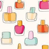 Nail polish bottles — Stock Vector