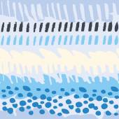 Multicolor watercolor seamless pattern — Stock Vector