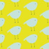 Seamless pattern with birds — ストックベクタ