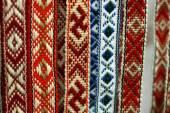 古典的な幾何学的パターンとベラルーシ語サッシ — ストック写真