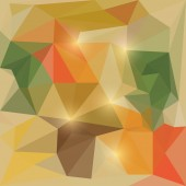 Abstract vector triangular geometric background with glaring lights — Wektor stockowy