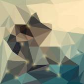 Abstract vector triangular geometric background with glaring lights — Vetorial Stock