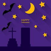 Halloween vector background — Stock Vector