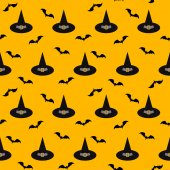 Halloween vector pattern background — Stock Vector