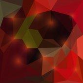 Abstract vector dreieckige geometrischen hintergrund mit grellen lichtern — Stockvektor