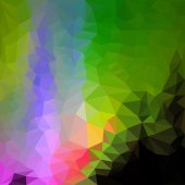Blended lighting abstract geometric background — Stockvector